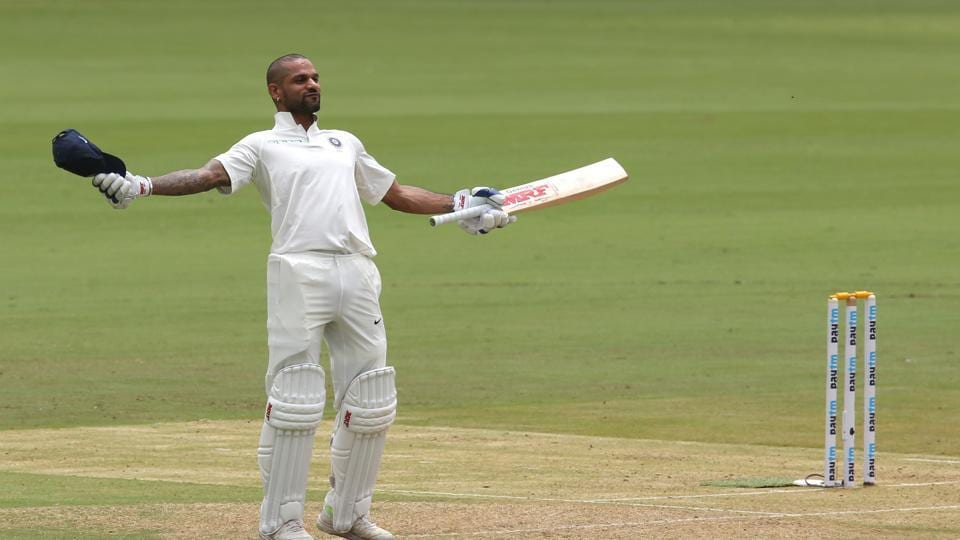 Shikhar Dhawan and Murali Vijay's centuries helped India reach a strong position in the one-off Test against Afghanistan at the M Chinnaswamy stadium in Bangalore. (BCCI)