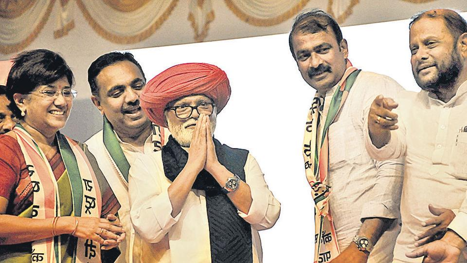 Pune,Pagdi,NCP
