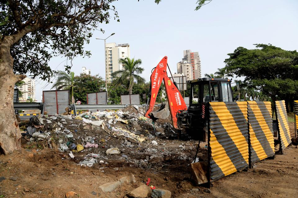 The construction of the 72-metre-long and 7.5-metre-wide subway near Karave village in Nerul started in February.