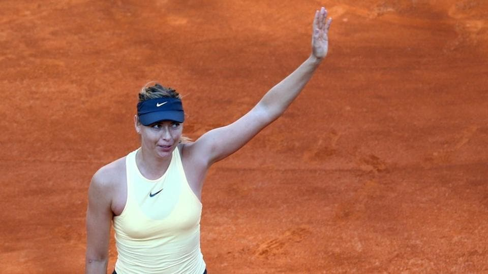 Maria Sharapova and Madison Keys (not in pic) have withdrawn from next week's Nature Valley Classic in Birmingham as they look to regain full fitness ahead of Wimbledon.