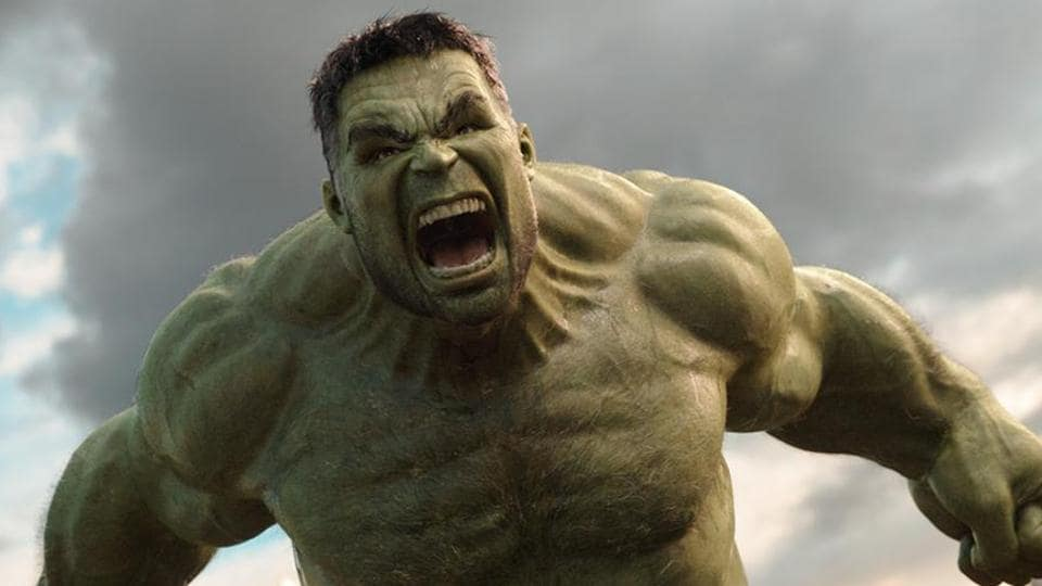 Mark Ruffalo plays the Incredible Hulk in the Marvel films.