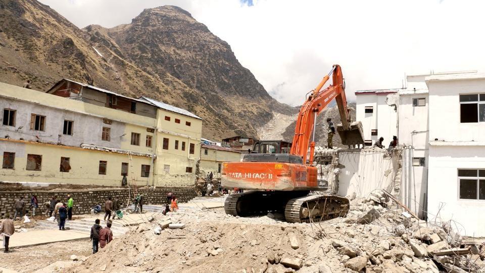 Kedarnath tragedy,Kedar valley,Reconstruction works