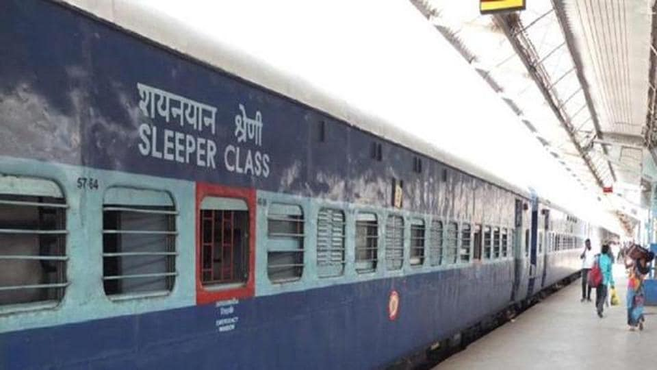 RPF officers found the girl asleep in the sleeper coach after they searched the train inDadar.