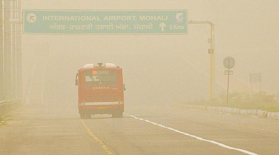 Dusty haze,Central Pollution Control Board,climate