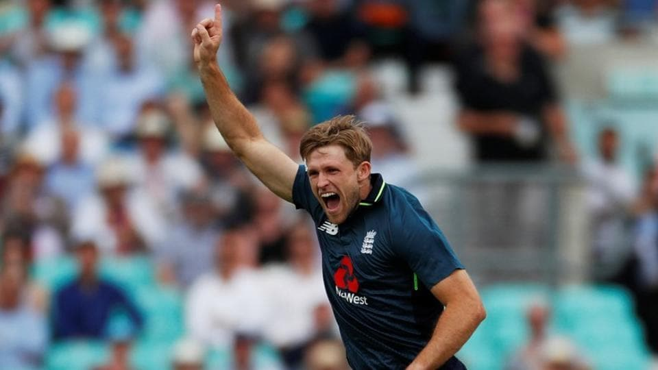 England's David Willey played for Chennai Super Kings (CSK) in the 2018 Indian Premier League (IPL).