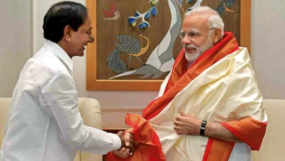KCR seeks 20,000 Crores for an irrigation project