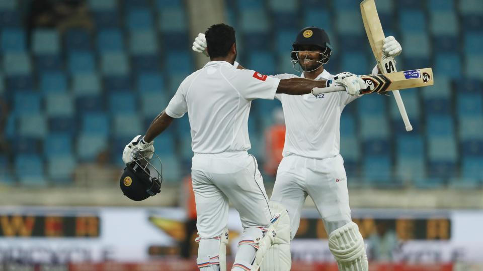 Dinesh Chandimal scored his fourth century overseas as Sri Lanka were rescued by the skipper but West Indies still held an advantage due to Shannon Gabriel's third five-wicket haul.