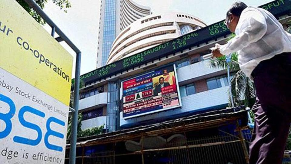 BThe BSE Sensex has so far touched a high of 35,666.07 and a low of 35,522.63 points.