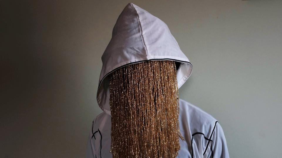 Undercover journalist Anas Aremeyaw Anas poses during an interview with Reuters in Accra, Ghana. (Francis Kokoroko / REUTERS)