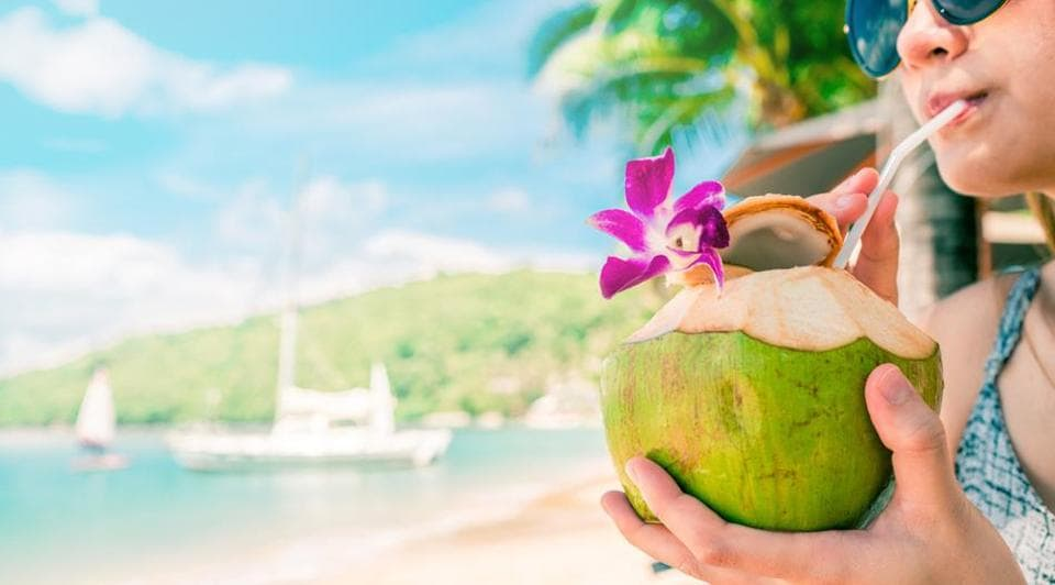 Is Coconut Water Safe For Diabetics When To Drink It To Avoid Sugar Spike Fitness Hindustan Times