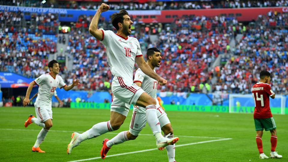 The own goal proved to be crucial as Iran claimed their first World Cup win in 20 years. (REUTERS)