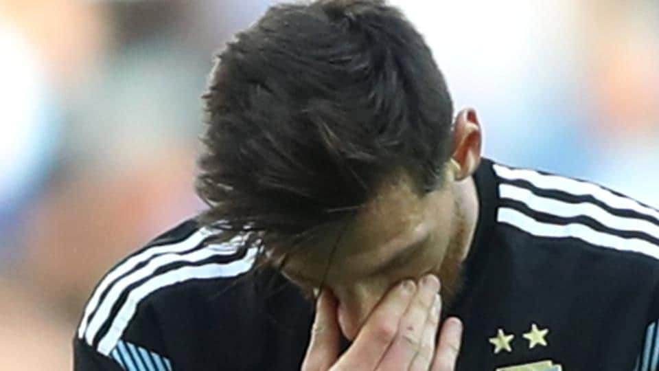Argentina captain Lionel Messi has missed four out of his last seven penalties.