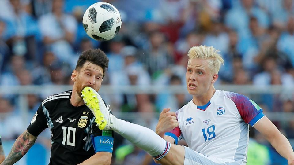 bc795ed6e Get highlights of Argentina vs Iceland, FIFA World Cup 2018 Group D match,  here. The Lionel Messi-led Argentina national football team played out a  1-1 draw ...