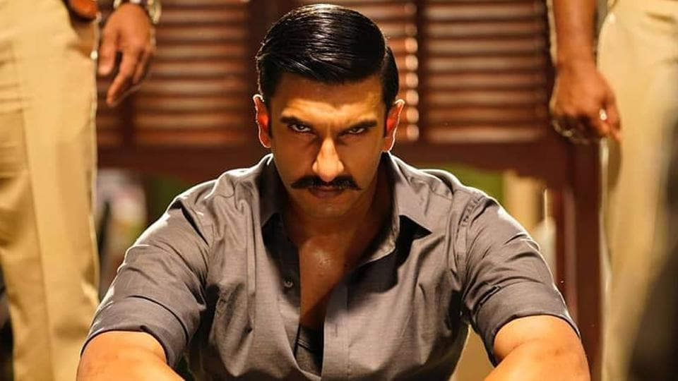 Ranveer Singh is a fierce and angry cop in first still ...