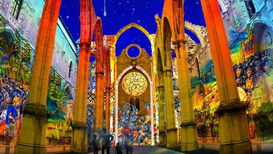 The multimedia show Lisbon Under Stars has been drawing up to 500 visitors a night.