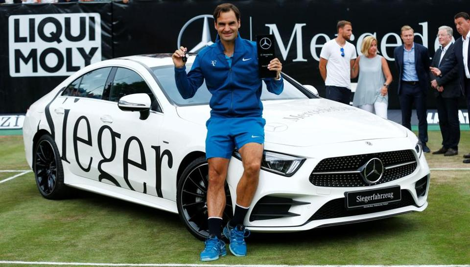 Roger Federer Capped A Fine Return To Action By Winning The Stuttgart Open Ahead Of Reclaiming The World Number One Spot On Monday