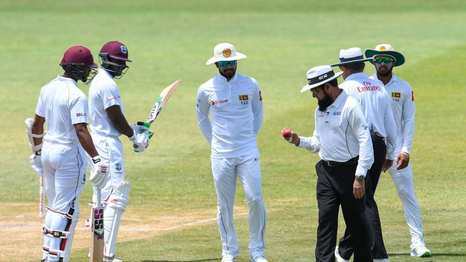 Sri Lanka cricket team,West Indies cricket team,ball-tampering
