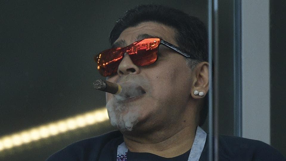 FIFA World Cup 2018,Diego Maradona,Argentina vs Iceland