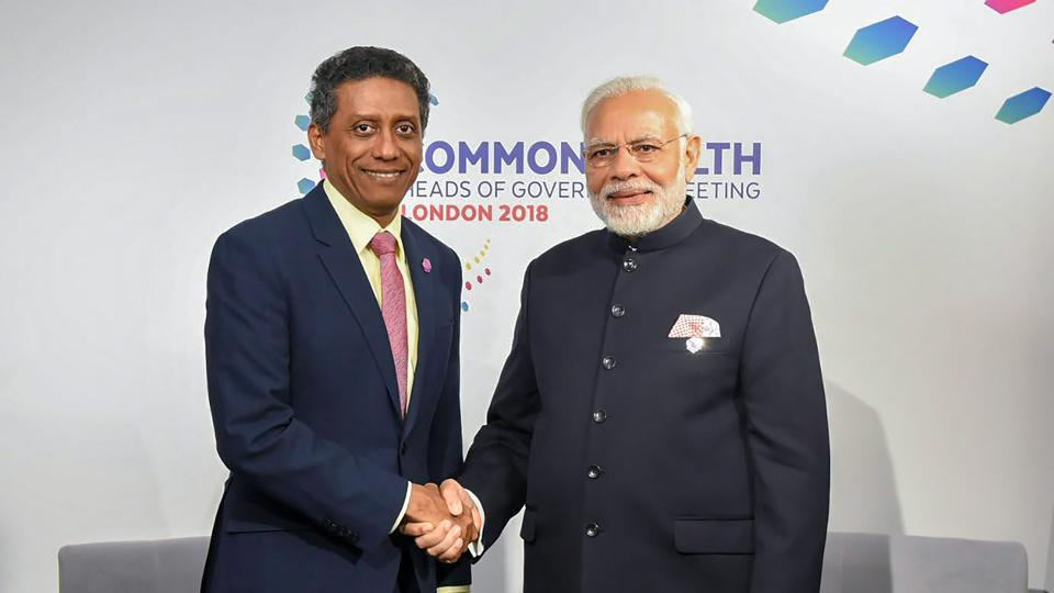 Seychelles President has talks with PM Modi today