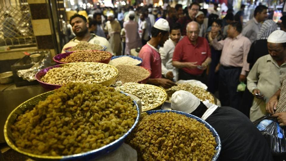 There are a variety of traditional foods made for the festival, with each country celebrating in its unique way. Traditionally, Eid al-Fitr is known as 'sweet Eid' as a wide variety of sweet foods and confectionary are eaten. (Sanchit Khanna / HT Photo)