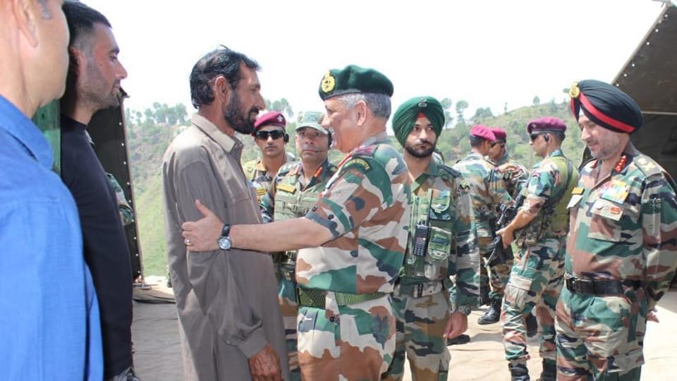 Aurangzeb,rifleman Aurangzeb,Bipin Rawat