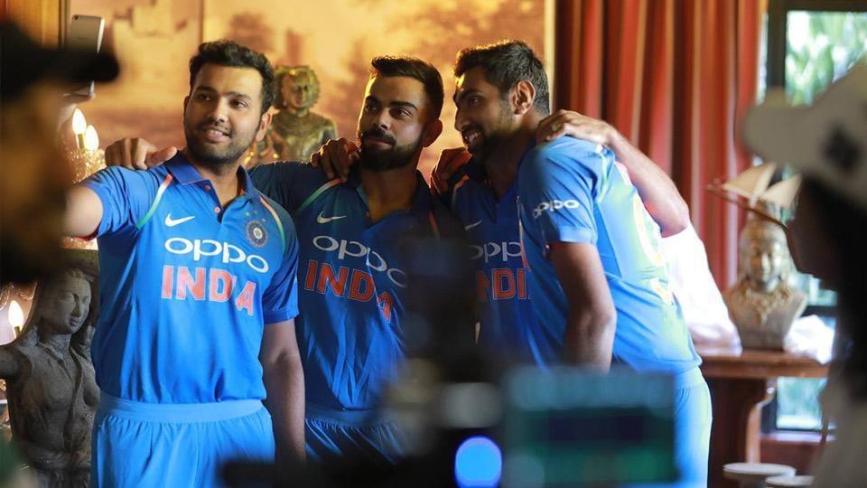 OPPO,cricket,Rohit sharma