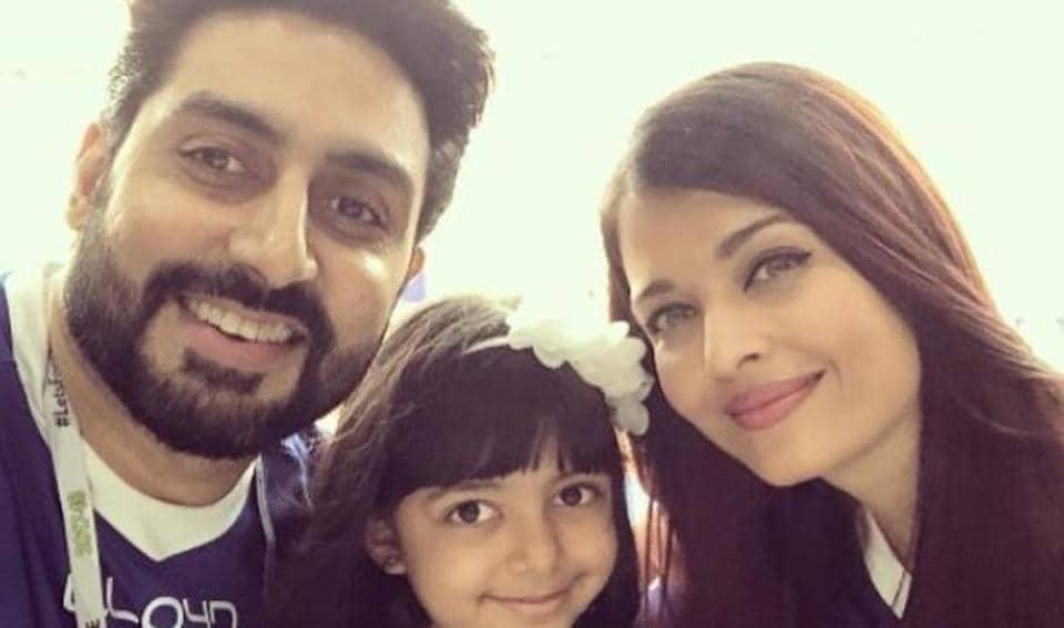 Aishwarya Rai Bachchan,Fathers' Day,Aaradhya Bachchan
