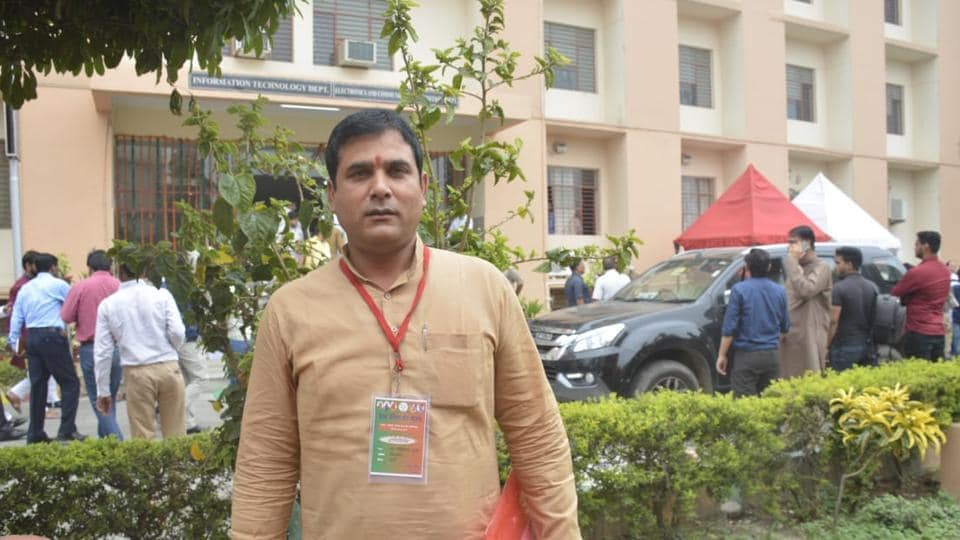 BJP,MLA,Nand Kishor Gujrar