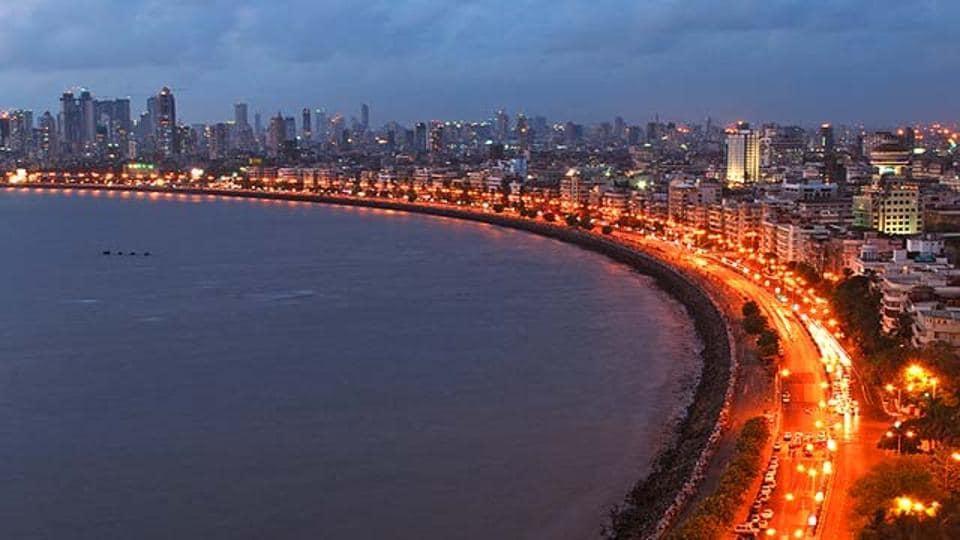 Mumbai,Maharashtra,Marine Drive