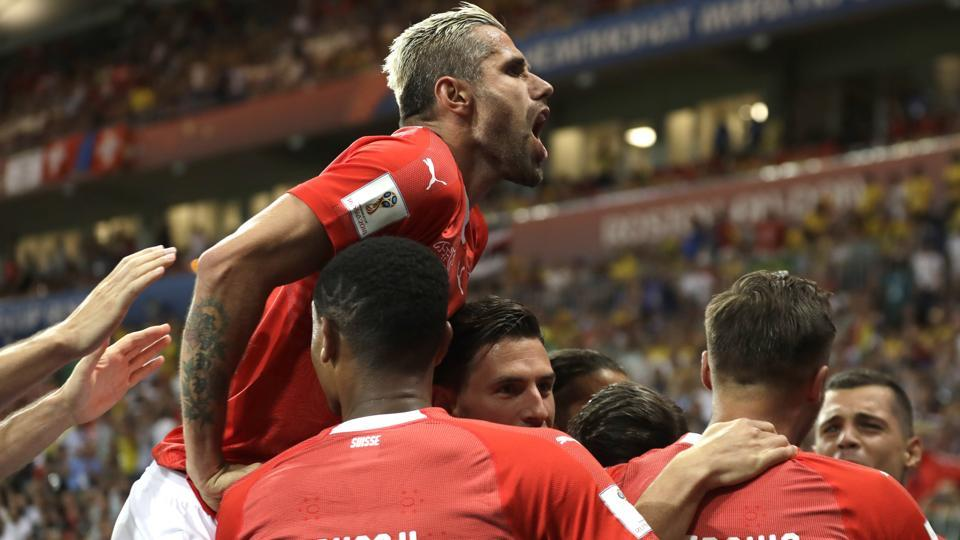 FIFAWorld Cup 2018,Brazil vs Switzerland,Brazil football team