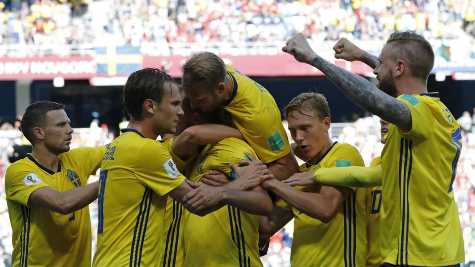 79e94d04c28 Get full score of the FIFA World Cup 2018 match between Sweden and South  Korea here. Sweden bag all three points against South Korea.