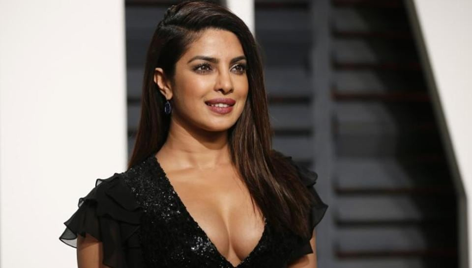 Priyanka Chopra Arrives For The Oscars Vanity Fair Party At The Beverly Hills