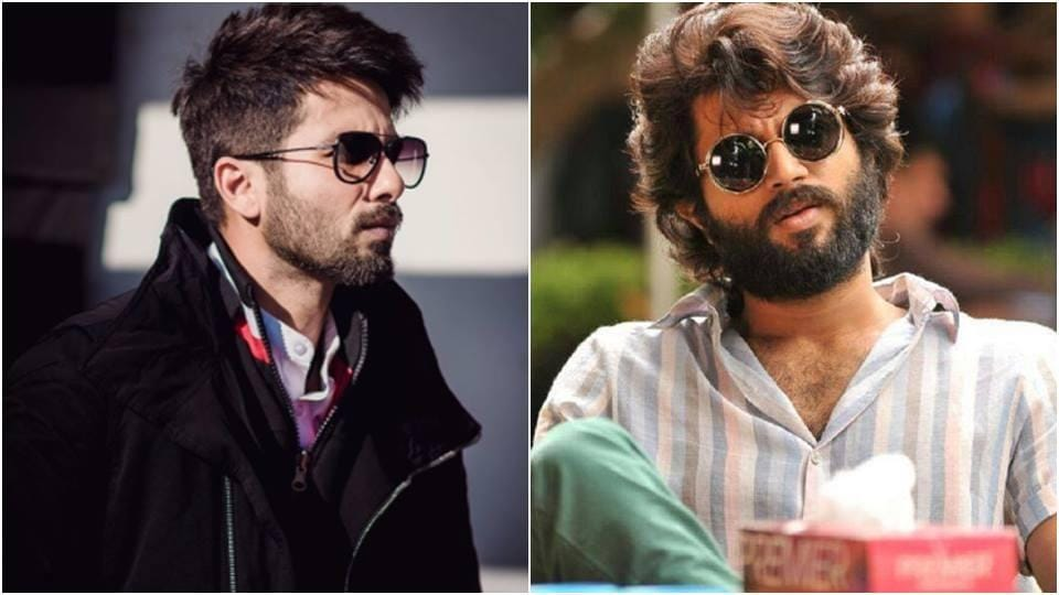 a7e296fab25 Vijay Deverakonda s role in Arjun Reddy will be played by Shahid Kapoor in  the Hindi remake.