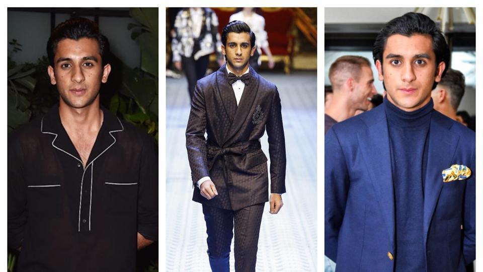 Padmanabh Singh, 19, made his modelling debut on international ramp for designer label Dolce & Gabbana