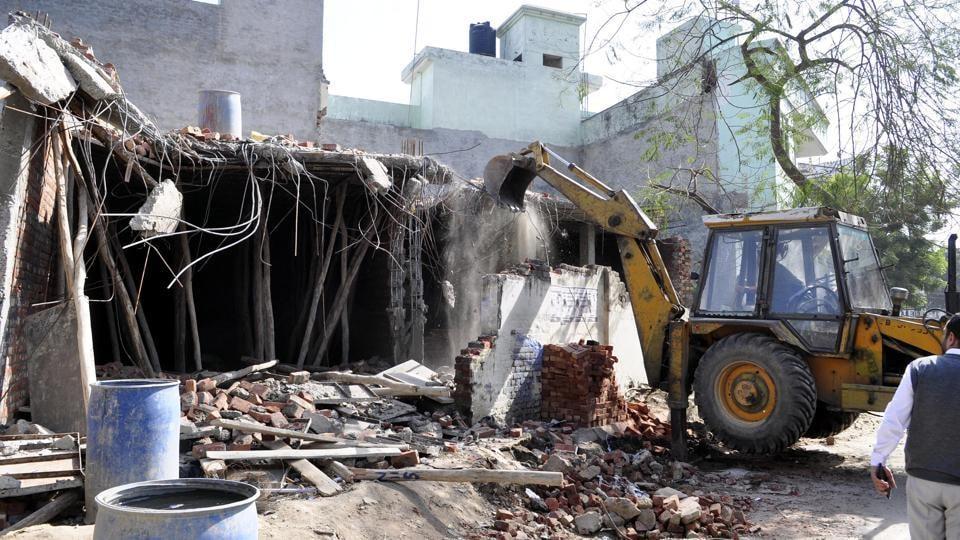 illegal construction,Jalandhar news,Navjot Singh Sidhu