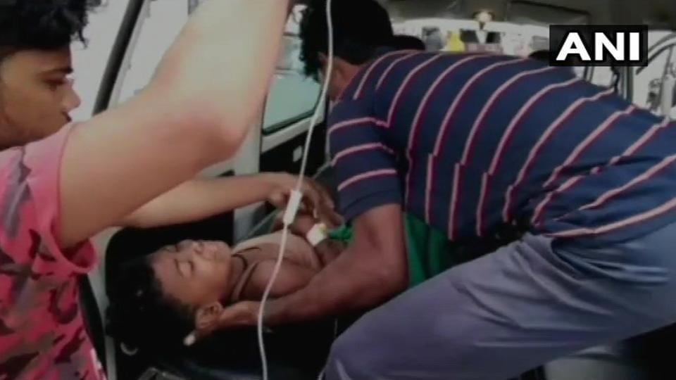 Araria,Children,car accident