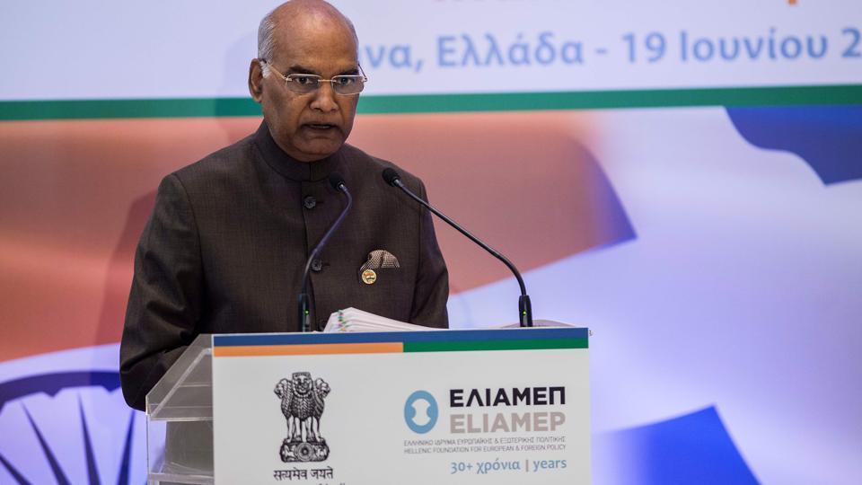 Indo-EU relations,Ram Nath Kovind,international order