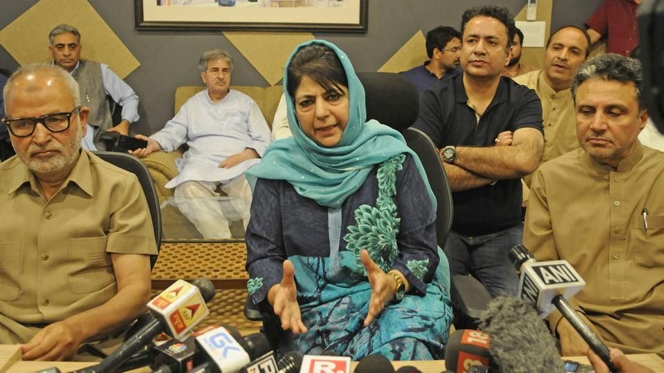 PDP chief and Jammu and Kashmir chief minister Mehbooba Mufti maintained that Jammu and Kashmir was not an enemy territory as being perceived by some.