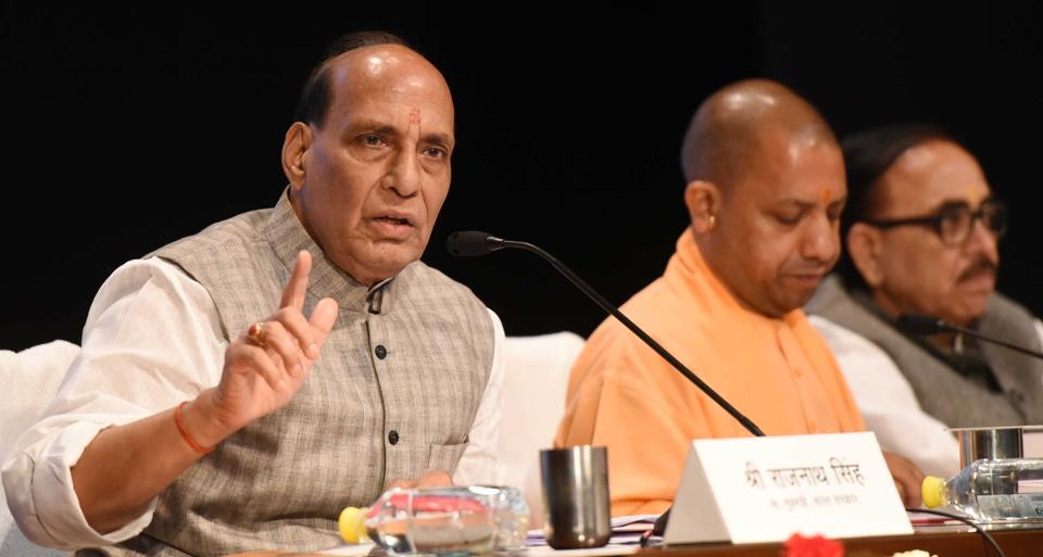 Home Minister Rajnath Singh held a high-level meeting at his residence with Home Secretary Rajiv Gauba, and senior officials of the Intelligence Bureau and his ministry to assess the ground situation in Jammu and Kashmir.