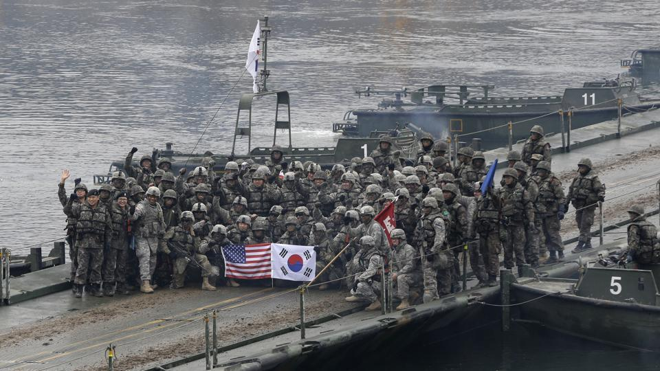 South Korea,US,military drills