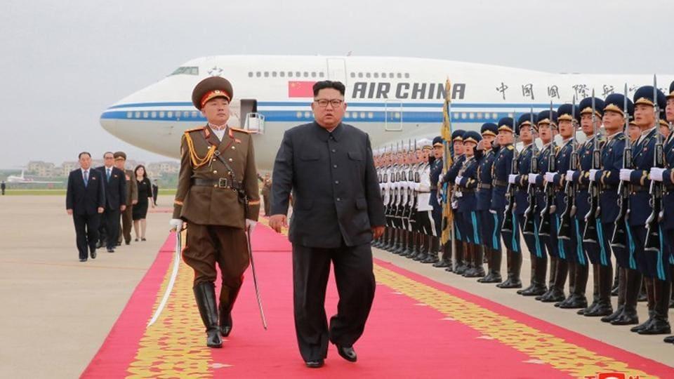 Kim Jong Un,North Korea,Kim Jong Un in China