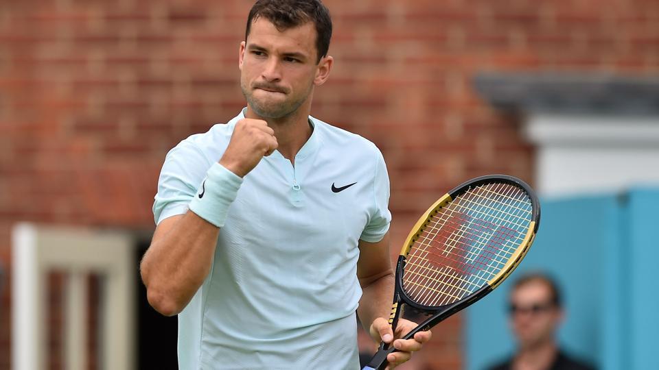 Grigor Dimitrov,Novak Djokovic,Queen's Club Championships