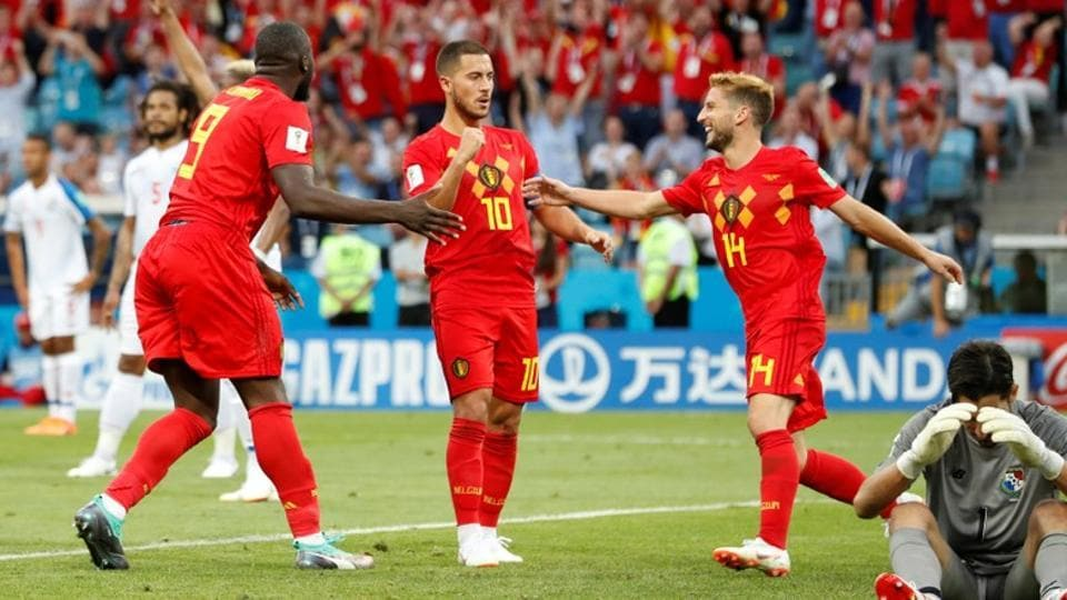 FIFA World Cup 2018,Eden Hazard,Belgium football team