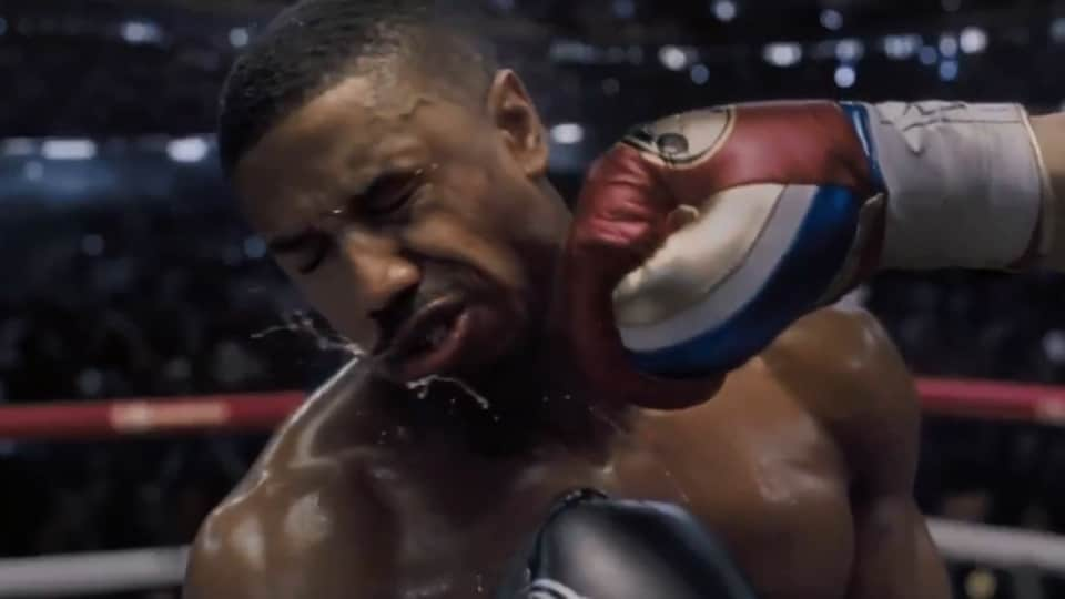 Michael B Jordan stars as Adonis Creed in Creed II.