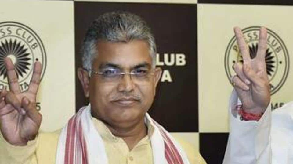 Dilip Ghosh,West Bengal BJP,Trinamool Congress