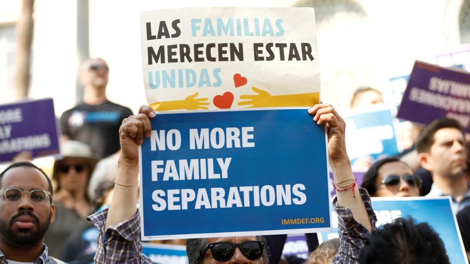 Donald Trump,US immigration,Families separated