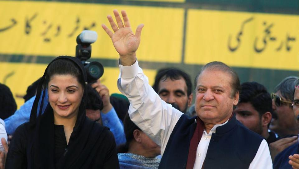 Nawaz Sharif,Maryam Nawaz,Kulsoom Nawaz