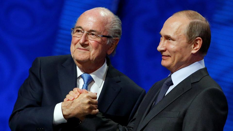 FIFA World Cup 2018,2018 FIFA World Cup,Sepp Blatter