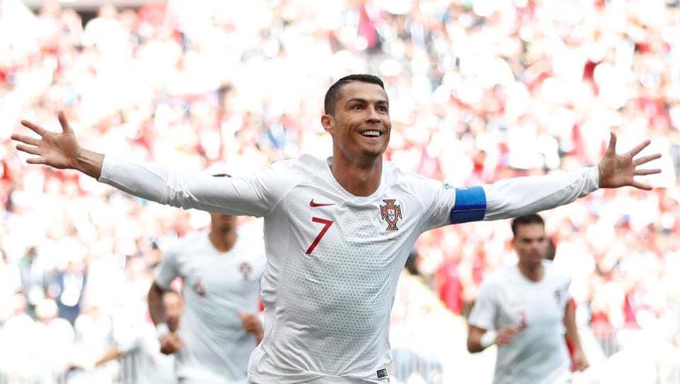Cristiano Ronaldo,FIFA World Cup 2018,Portugal vs Morocco