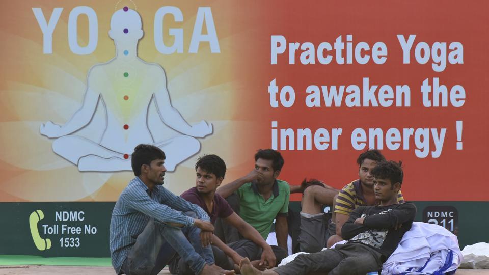 International Yoga Day,Rajpath,Yoga Day